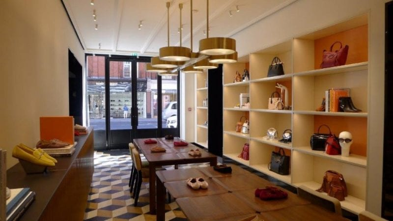 4f7835dafe Tod's Unveils New Posh 'apartment' Retail Concept In London ⋆ Opulent Club